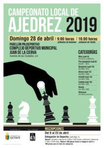 20190123_1000_deportes_campeonato_local_ajedrez_cartel